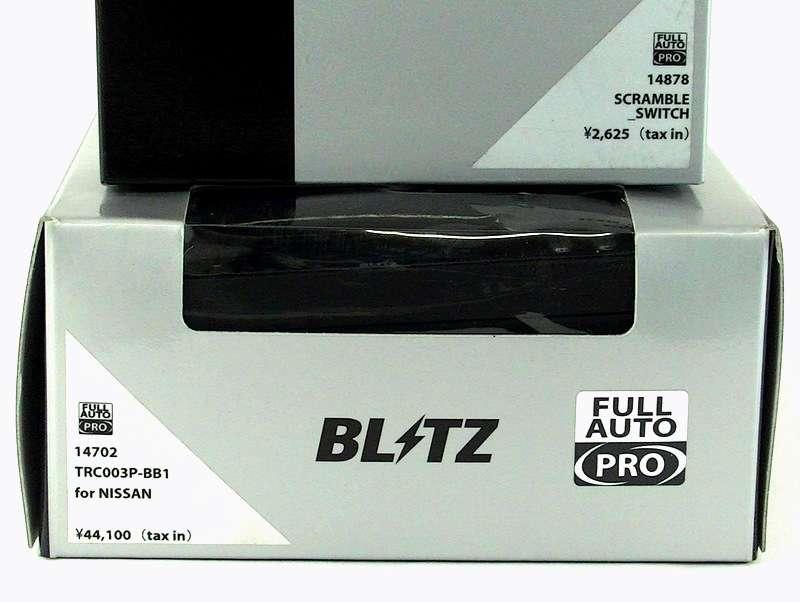 BLITZ Throttle controller PRO X-TRAIL K12 Qashqai CUBE Z12 Z11